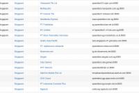 speedtest server list